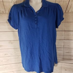2 for 15 Just My Size Blue Short Sleeve Tee